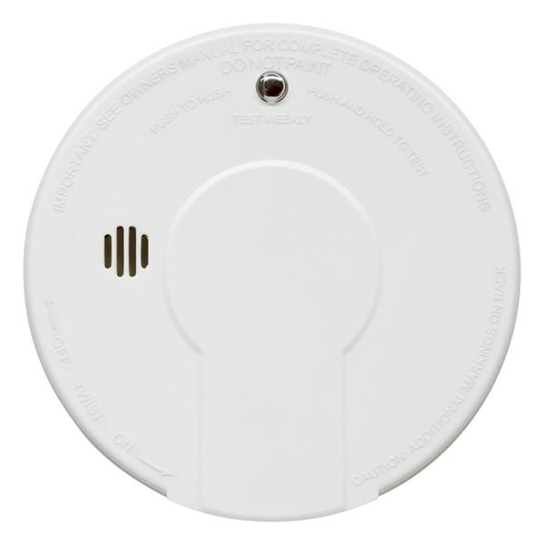 Smoke Detector With Hush Button
