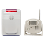 Carelink Motion Sensor and Receiver Caregiver Alarm